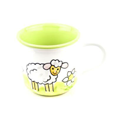Gyerekbögre bárány mintával