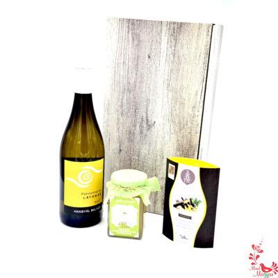Fehér bor - citrussal