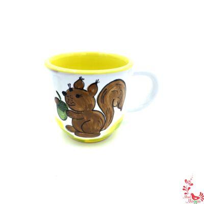 Gyerekbögre mókus mintával