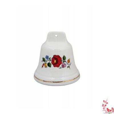 Kalocsai porcelán csengő