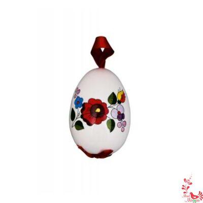Kalocsai porcelán tojás 6 cm
